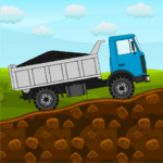 Mini Trucker – 2D offroad truck simulator MOD Unlimited Money 1.2.5.2 for android