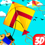 Basant The Kite Fight 3D : Kite Flying Games 2020 APK (MOD, Unlimited Money) 1.0 for android