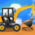 Construction Vehicles & Trucks – Games for Kids APK (MOD, Unlimited Money) 1.9.0 for android