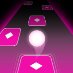 Dancing HOP Tiles Ball EDM Rush APK MOD Unlimited Money 1.6 for android
