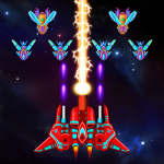 Galaxy Attack Alien Shooter APK MOD Unlimited Money 23.4 for android