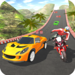Car vs Bike Racing APK (MOD, Unlimited Money) 5.0.6 for android