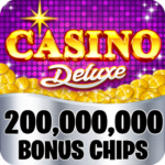 Casino Deluxe Vegas – Slots, Poker & Card Games APK (MOD, Unlimited Money) 1.11.7  for android
