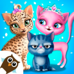 Cat Hair Salon Birthday Party – Virtual Kitty Care APK (MOD, Unlimited Money) 8.0.80006 for android