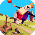 Catapult Shooter 3D Revenge of the Angry King APK MOD Unlimited Money 1.0.14 for android