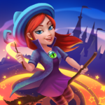 Charms of the Witch Magic Mystery Match 3 Games APK MOD Unlimited Money 2.13.9944 for android