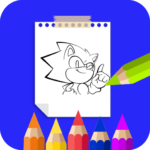 Coloring Book For Sonic APK (MOD, Unlimited Money) 27.0 for android