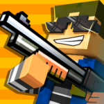 Cops N Robbers – 3D Pixel Craft Gun Shooting Games APK MOD Unlimited Money 9.6.1 for android