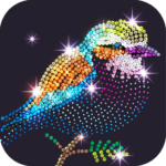 Diamond Coloring – Sequins Art Paint by Numbers APK MOD Unlimited Money 1.2.8 for android