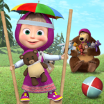 Free games: Masha and the Bear APK (MOD, Unlimited Money) 1.4.4 for android