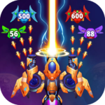 Galaxy Raid Space shooter APK MOD Unlimited Money 2.0.2 for android