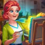 Gallery Coloring Book by Number Home Decor Game APK MOD Unlimited Money for android