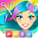 Girls Hair Salon Unicorn – Hairstyle kids games APK (MOD, Unlimited Money) 1.09  for android