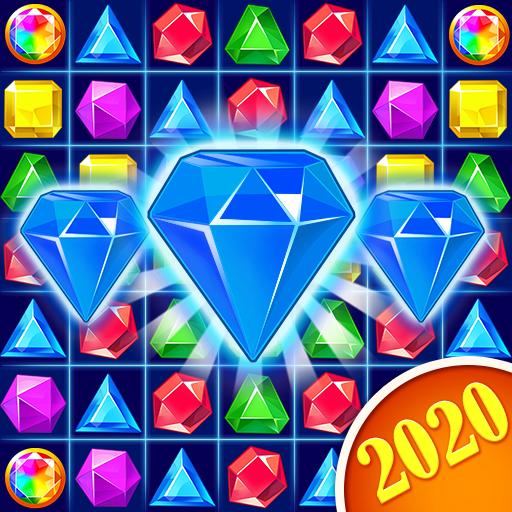 Jewel Crush – Jewels Gems Match 3 Legend APK MOD Unlimited Money 3.9.5 for android
