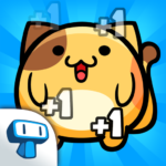 Kitty Cat Clicker – Hungry Cat Feeding Game APK MOD Unlimited Money 1.1.4 for android