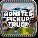 Monster Pickup Truck the monster jam kids games APK (MOD, Unlimited Money) 7.8 for android