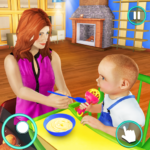 New Baby Single Mom Family Adventure APK MOD Unlimited Money 1.0.7 for android