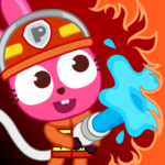 Papo Town Fire Department APK MOD Unlimited Money 1.0.2 for android