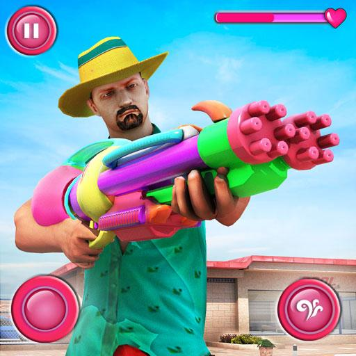 Pool Party Gunner FPS New Shooting Game 2018 APK MOD Unlimited Money 1.4 for android