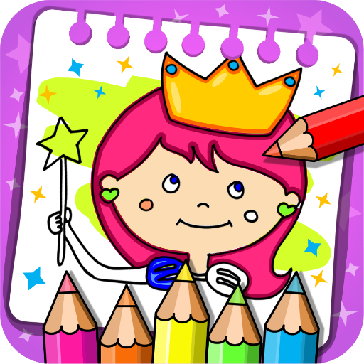 Princess Coloring Book & Games APK (MOD, Unlimited Money) 1.54  for android