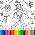 Princess Coloring Game APK (MOD, Unlimited Money) 16.4.2 for android
