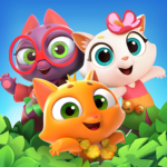 Tropicats Match 3 Games on a Tropical Island APK MOD Unlimited Money 1.59.199 for android