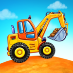 Truck games for kids – build a house car wash APK MOD Unlimited Money for android