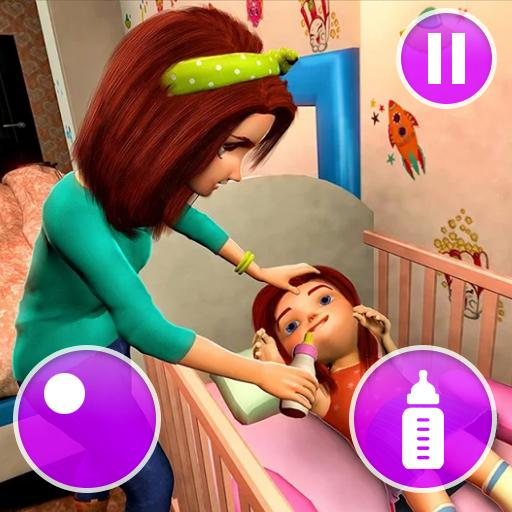 Virtual Mother Game Family Mom Simulator APK MOD Unlimited Money 1.20 for android