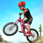 BMX Mountain Climb Stunts- Free Bicycle Games APK MOD Unlimited Money 2.0 for android