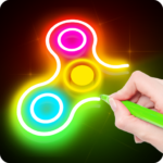 Draw Finger Spinner APK (MOD, Unlimited Money) 1.0.4  for android