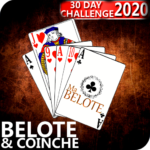Free French Belote & Coinche – 30 days Challenge APK (MOD, Unlimited Money) 1.19 for android