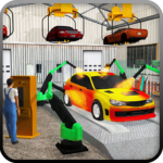 Gas Station Car Service Mechanic Tow Truck Games APK MOD Unlimited Money 1.6 for android