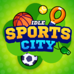 Idle Sports City Tycoon Game Build a Sport Empire APK MOD Unlimited Money 0.8.2 for android