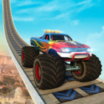 Monster Truck Mega Ramp Stunts Extreme Stunt Games APK MOD Unlimited Money 1.9 for android