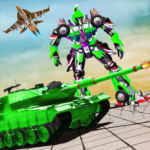 Robot Transform Tank Action Game APK MOD Unlimited Money 1.3 for android