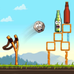 Sling King Shooting Games Bottle Shoot Free Games APK MOD Unlimited Money 2.0.037 for android