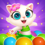 Bubble Shooter Cat Island Mania 2020 APK MOD Unlimited Money 1.01 for android
