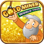 Gold Miner World Tour Gold Rush Puzzle RPG Game APK MOD Unlimited Money 1.7.5 for android
