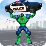 Incredible Monster Robot Hero Crime Shooting Game APK MOD Unlimited Money 1.8 for android