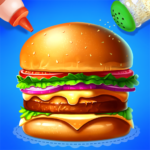 Make Hamburger – Yummy Kitchen Cooking Game APK MOD Unlimited Money 3.1.5017 for android