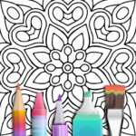 Mandala Coloring Book APK (MOD, Unlimited Money) 3.1.1 for android
