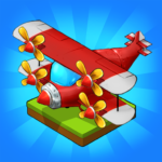 Merge Airplane Cute Plane Merger APK MOD Unlimited Money 1.0.94 for android