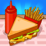 Merge Sandwich Happy Club Sandwich Restaurant APK MOD Unlimited Money 2.0.0 for android