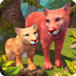 Mountain Lion Family Sim : Animal Simulator APK (MOD, Unlimited Money) 1.8.2 for android