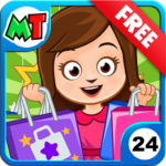 My Town Shopping Mall Free APK MOD Unlimited Money 1.02 for android