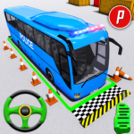 Police Bus Parking Game 3D – Police Bus Games 2019 APK MOD Unlimited Money 1.0.14 for android