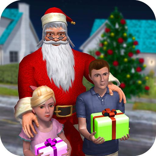 Rich Dad Santa Fun Christmas Game APK MOD Unlimited Money 1.0.10 for android