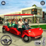Shopping Mall Radio Taxi Car Driving Taxi Games APK MOD Unlimited Money 3.3 for android