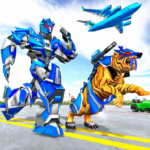 US Police Tiger Robot Game Police Plane Transport APK MOD Unlimited Money 1.1.2 for android
