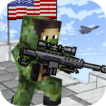 American Block Sniper Survival APK MOD Unlimited Money 1.80 for android